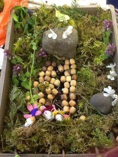 Under 5s Easter Garden Making