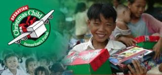 Shoebox Packing Event