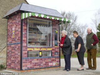 New Village Shop Vending Machine in Newton Flotman?
