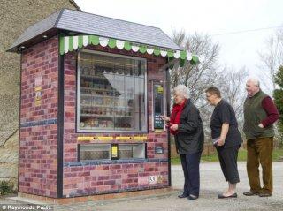 New Village Shop Vending Machine in Newton Flotman?